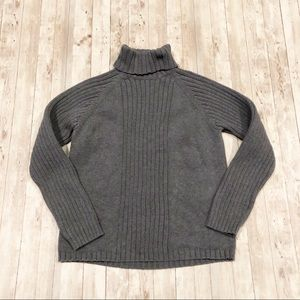Oxford Fulham cotton turtleneck chunky sweater